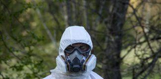 Protezione per bonifica amianto