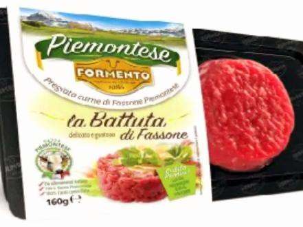 Allerta carne confezionata