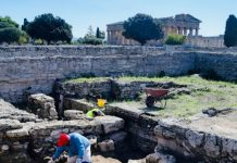 Paestum nuovo scavo