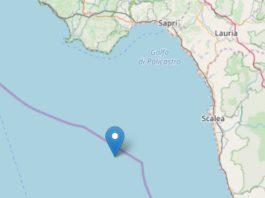 Calabria: forte scossa di terremoto di magnitudo 4.4