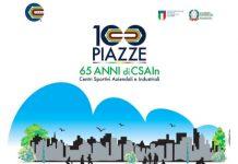 65esimo CSAIn: si festeggia con l'evento 100 Piazze