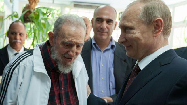 Putin cancella il debito di Cuba