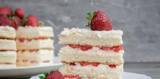 La torta del 2019? E' la Naked Cake