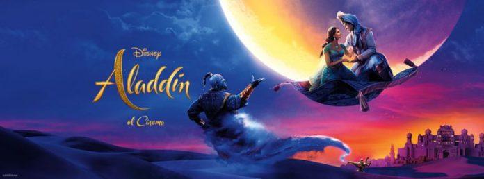 Aladdin vola in vetta al box office con un'apertura di 6.4 milioni di euro