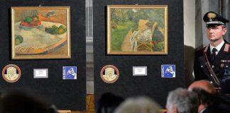 """La """"polizia dell'arte italiana"""" ritrova due Gauguin e Bonnard dopo 40 anni"""