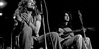 Led Zeppelin: Page stufo del comportamento di Robert Plant