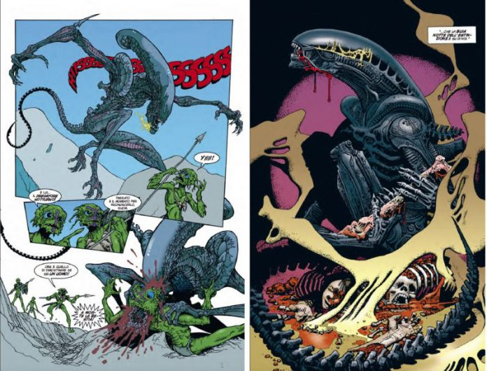 Aliens Grandi Maestri: la nuova collana saldaPress