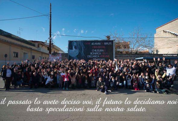 Lizzano - I cittadini contro la discarica Vergine: