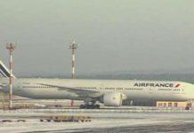 Avaria sul volo Parigi-Shanghai; aereo rimasto bloccato