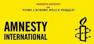 COME LACRIME NELLA PIOGGIA 5 - Amnesty International