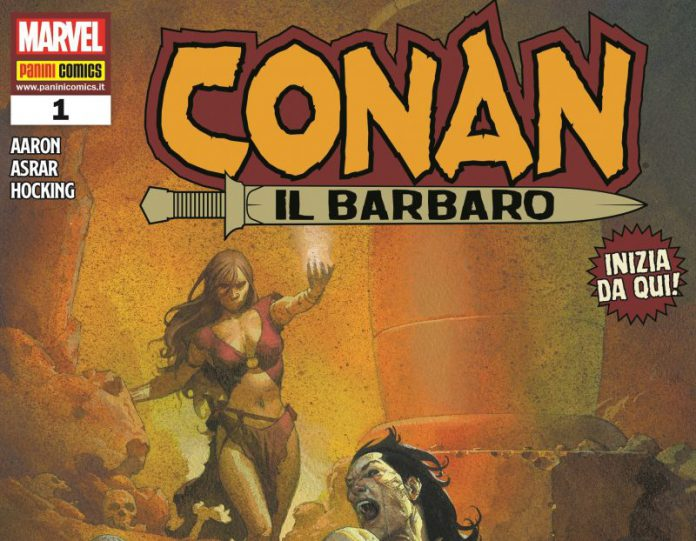 Panini Comics presenta a Cartoomics 2019 la nuova collana Conan il Barbaro