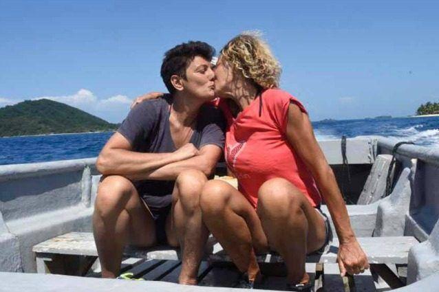 Eva Grimaldi fa coming-out sull'Isola dei Famosi