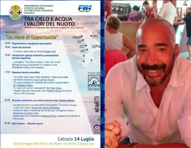 Amaurys Pérez: dall'isola dei Famosi al Progetto FIN Calabria