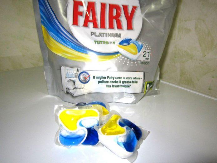 FAIRY PLATINUM: detergente per lavastoviglie