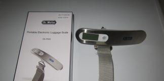 Il pesa valigie portatile Dr.Meter® la rivoluzione durante i viaggi