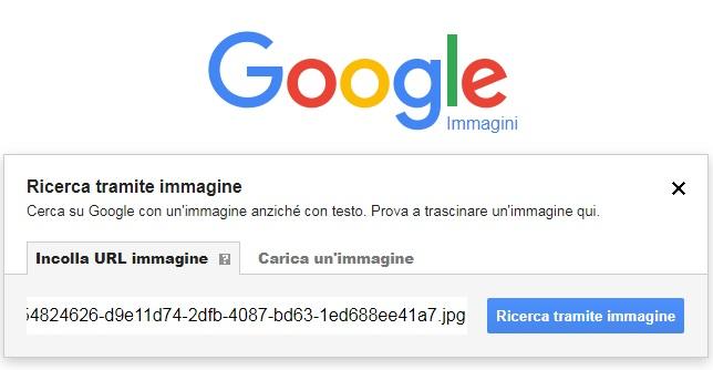 ricerca immagini google tramite url