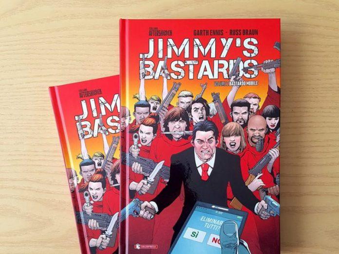 E' uscito il secondo e ultimo volume di JIMMY'S BASTARDS