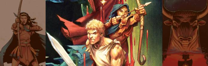 KILL THE MINOTAUR: è uscita il graphic novel Skybound che rilegge il mito in chiave horror