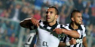 Seria A TIM: Tevez trascina la Juventus