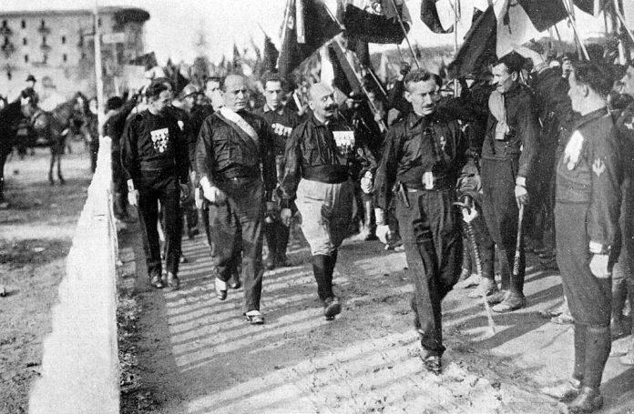 Mussolini e i presupposti della rivoluzione fascista