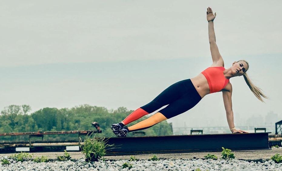 Lindsey Vonn Plank