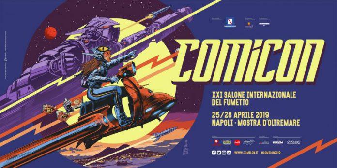 Comicon: Francesco Francavilla firma il poster dell'edizione 2019