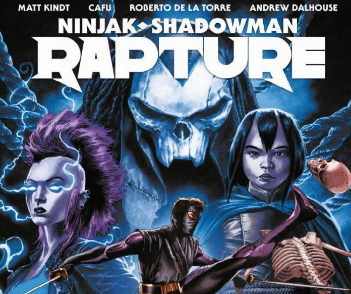 Ninjak – Shadowman Rapture : la zona morta dichiara guerra al paradiso