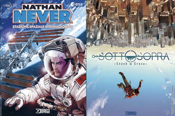 Dal 31 ottobre una sorprendente storia immaginata da Luca Enoch e la nuova avventura di Nathan Never