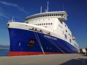 Traghetto Norman Atlantic: mobilitata la Marina Militare.