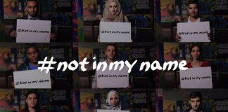 Not in my name - Domani tutti a Roma