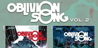 Il secondo volume di OBLIVION SONG  esce il 16 maggio
