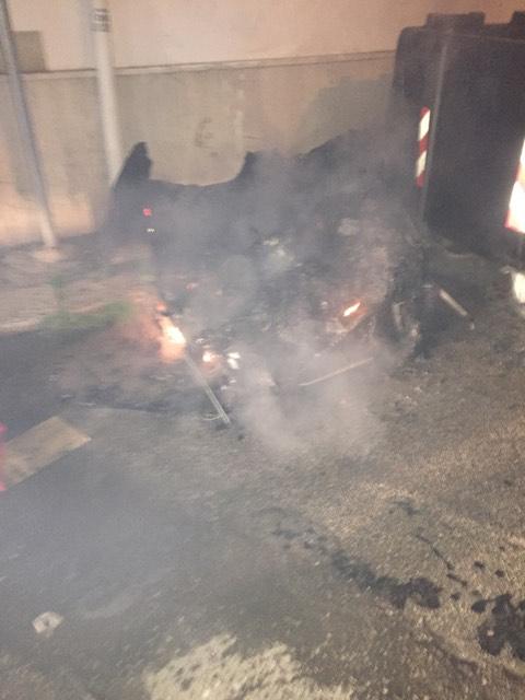 Pulsano - Raid incendiari (Foto)