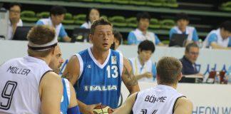 Mondiali di basket in carozzina: grande esordio azzurro con un Rossetti che non perdona
