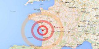 Terremoto insolito colpisce la Francia