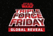 Gli attori di Star Wars uniscono le forze per celebrare  il conto alla rovescia verso il Triple Force Friday
