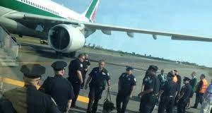 Allarme su un volo Alitalia Milano New York