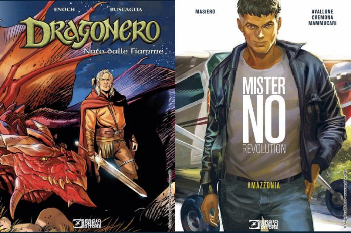 Arrivano in libreria e fumetteria  un nuovo volume della saga dedicata a Ian Aranill  e il terzo capitolo di Mister No Revolution