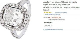 L'anello che costa 172.684