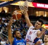 La Serbia fa male all'Italbasket: 101-82