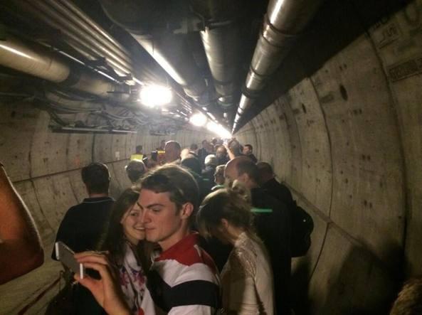 bloccati nel tunnel