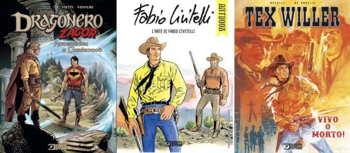 Sergio Bonelli Editore porta sugli scaffali tre nuovi importanti novità per fumetterie e librerie