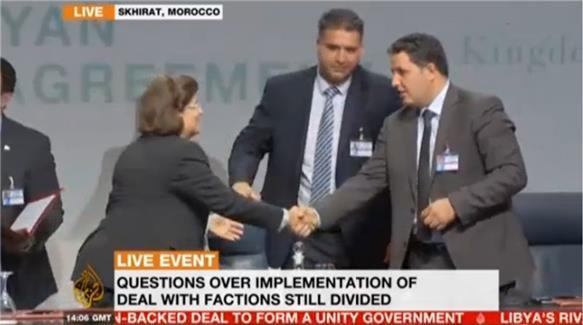 Storico accordo per una nuova Libia