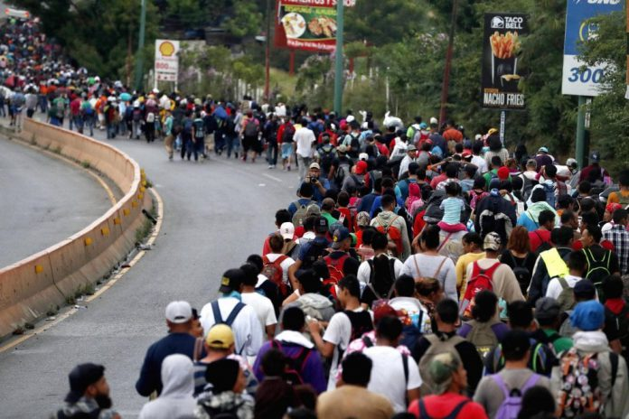 Honduras: migranti in viaggio verso gli Stati Uniti