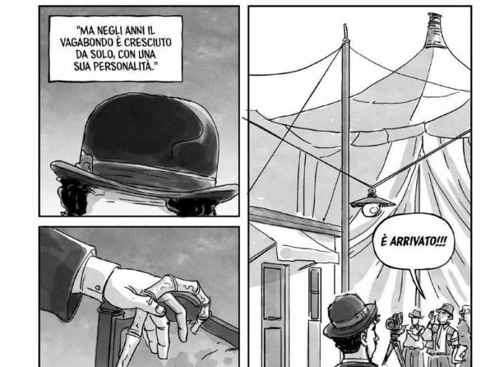 Un graphic novel dedicato al grande Charlie Chaplin