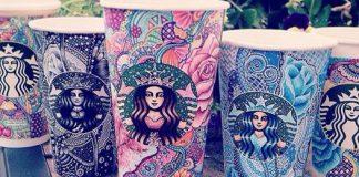 Starbucks: I bicchieri come opere d'arte