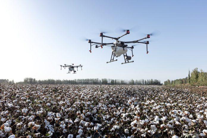 Decollano i primi droni irroratori per l'agricoltura in Sud Africa