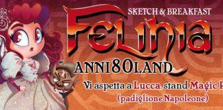 Questa volta Felinia ci porta nel glitterato mondo degli anni 80!