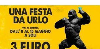 Festa del Cinema: dall'8 al 15 maggio biglietti a 3 euro!