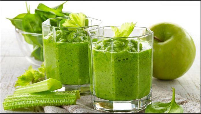 frullato verde per perdere peso a poco a poco