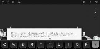Hanx Writer: app per iPad tra nostalgia ed innovazione